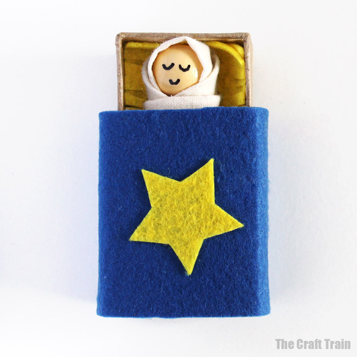 Matchbox Manger Craft