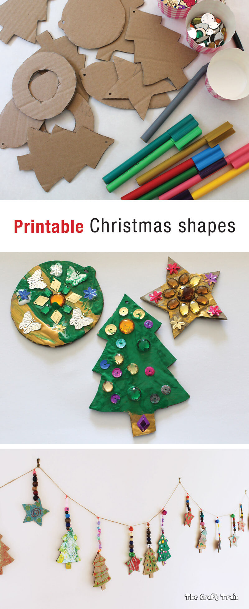 photograph about Free Printable Christmas Cutouts named printable Xmas designs The Craft Practice