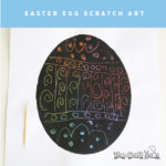 Easter scratch art