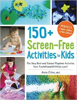 150+ Screen Free Activities for kids