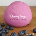 Blueberry Dough - a recipe for play