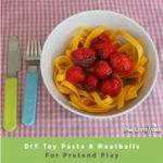 Pasta Meatballs header