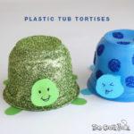 Plastic tub tortises