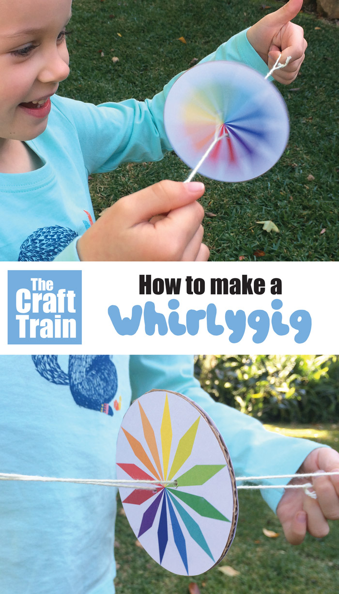 How to make a whirlygig - free printable patterns for kids
