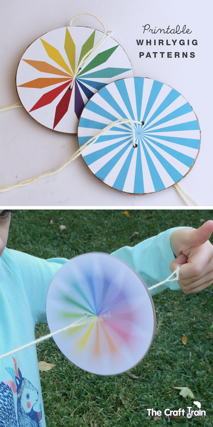 How To Make A Whirlygig The Craft Train