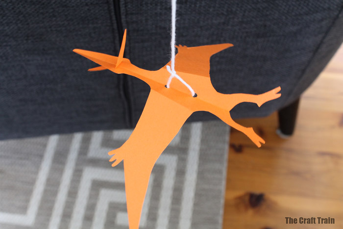 paper dinosaur craft idea