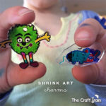 shrink art charms for kids