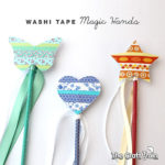 Washi tape magic wand