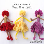 pipe cleaner and pasta dolls