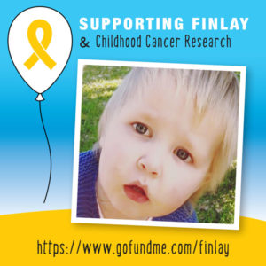 Supporting childhood cancer research