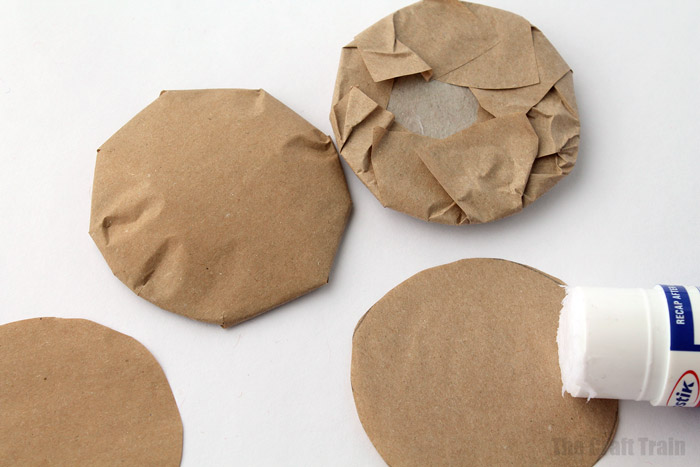 steps to making paper cookies