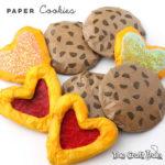 Paper cookies