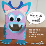 Monster Munch Sight Word Eater