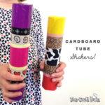 Cardboard tube shakers
