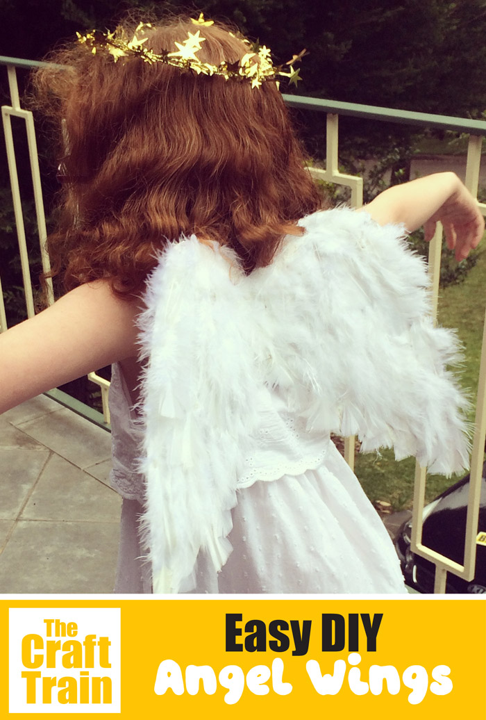 Easy DIY angel wing tutorial