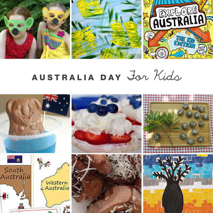 Australia Day blog hop roundup