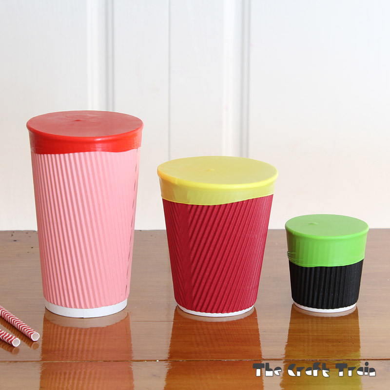 6 Awesome paper cup instruments