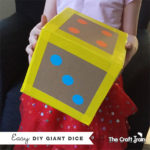 Make an easy DIY giant dice