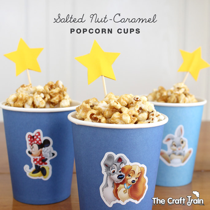 Salted Caramel Popcorn Cups - this recipe is gluten, dairy and refined sugar free