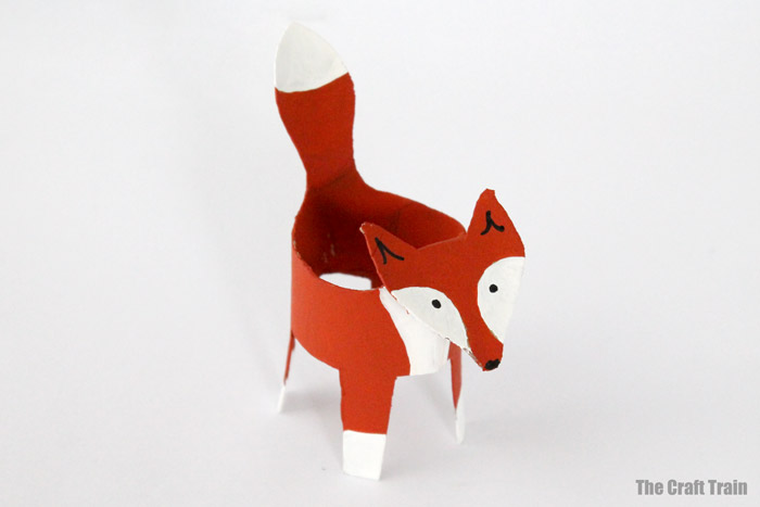 finished paper roll fox