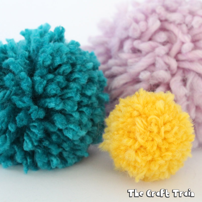 How to make pom poms the easy way