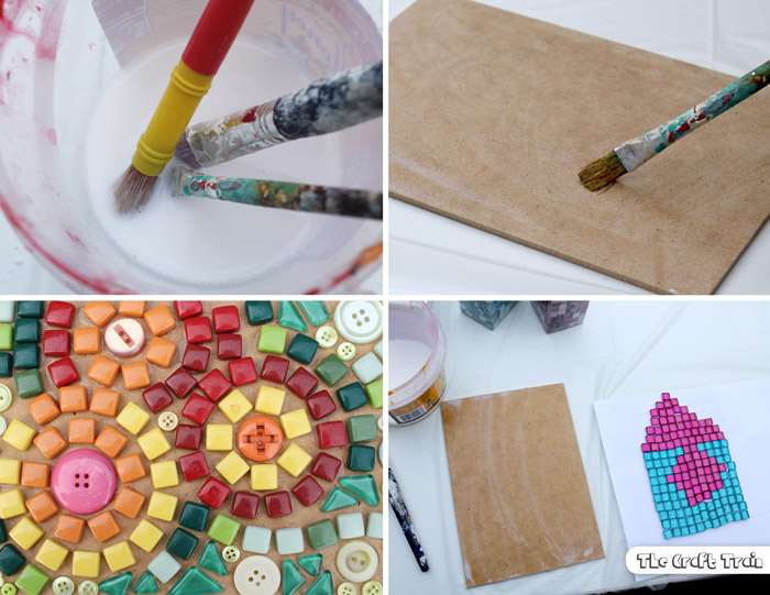 How to make mosaics