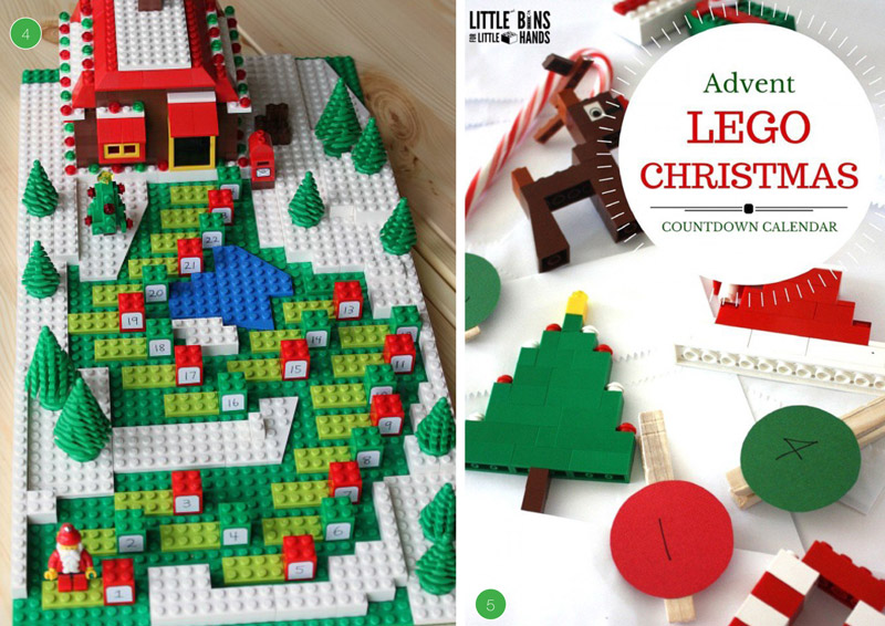 Advent Calendar Ideas Lego : Awesome diy advent calendars the craft train