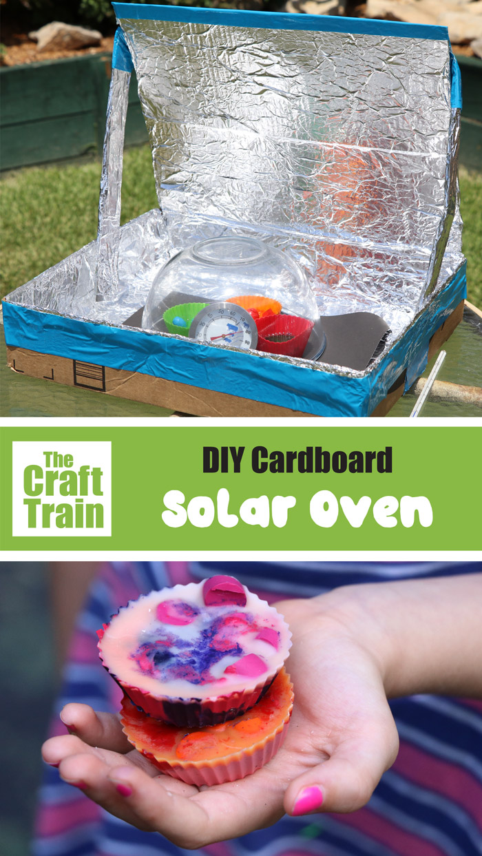 how to make a solar oven from a cardboard box