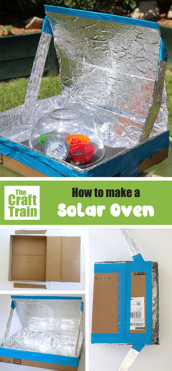 How to make a DIY solar oven – this is a fun and easy science project for kids and teens