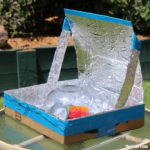 DIY solar oven experiment