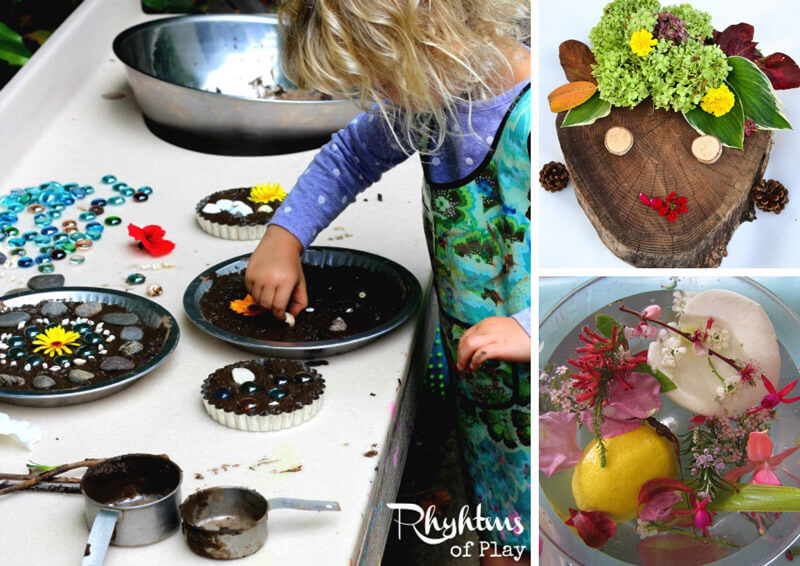 21 inspiring process art activities using nature that kids will love