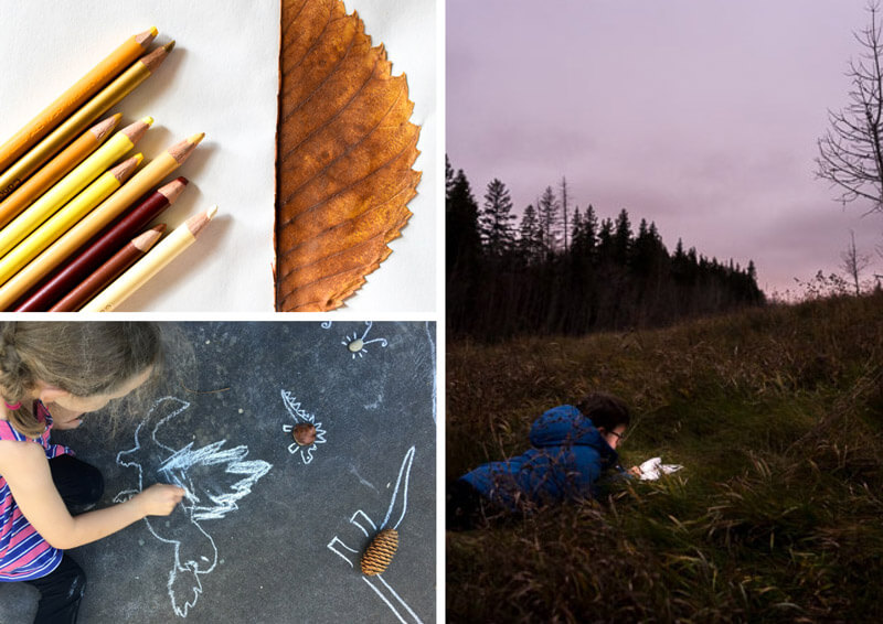 21 beautiful nature art ideas for kids