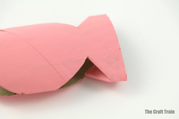 paper roll fish step 4