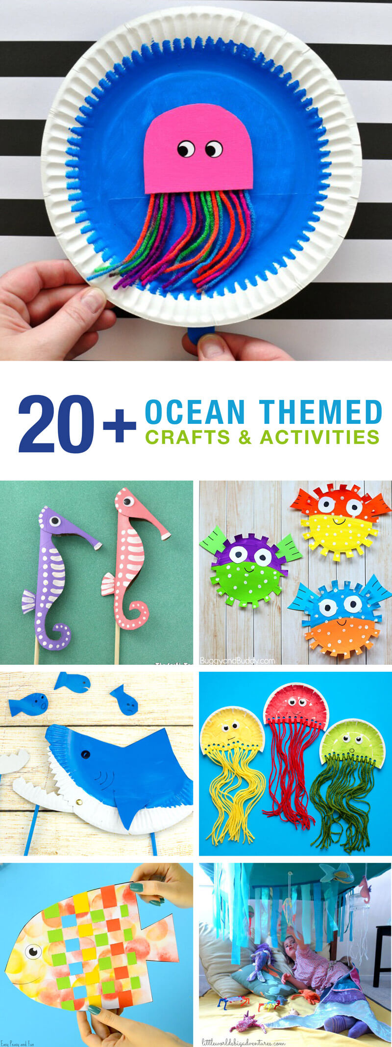 20 Ocean Crafts And Activities The Craft Train