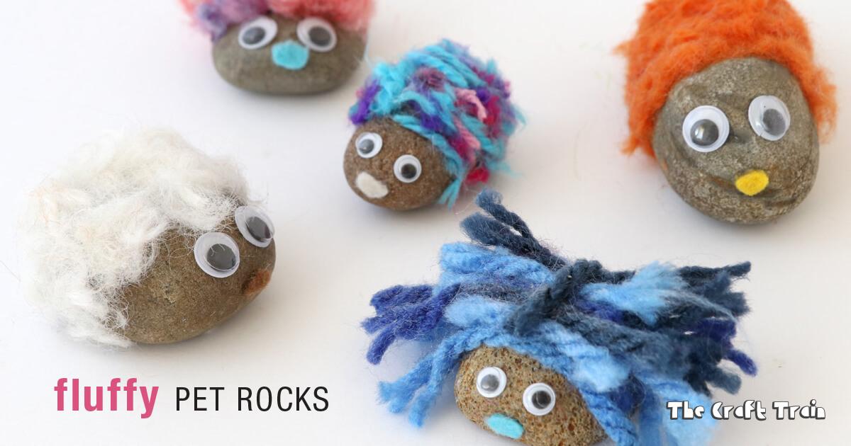 Fluffy Pet Rocks The Craft Train