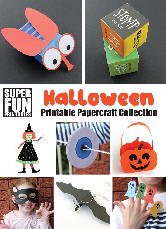 graphic regarding Printable Holloween Crafts identified as 8 enjoyable printable Halloween crafts The Craft Prepare