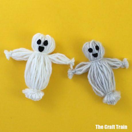 easy ghost craft idea