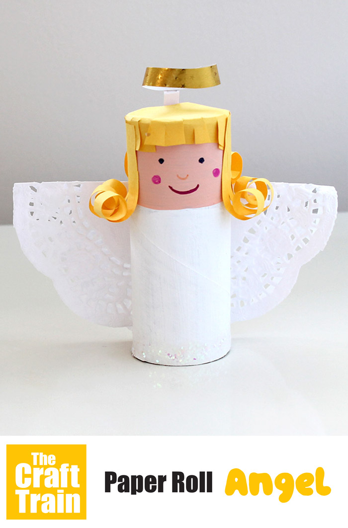 Easy Christmas angel craft