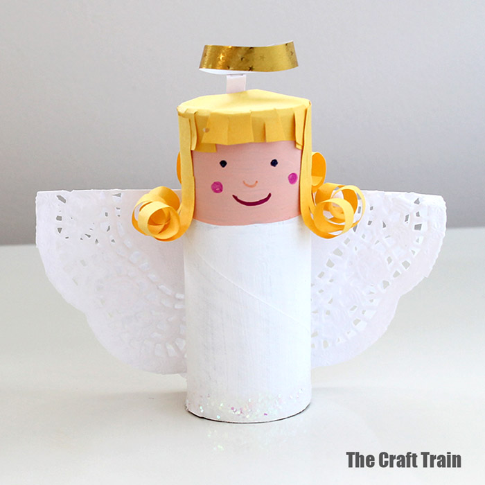 Paper Roll Angel