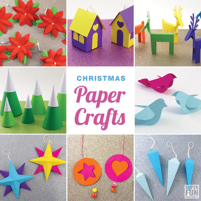 12 Christmas Paper Crafts The Craft Train