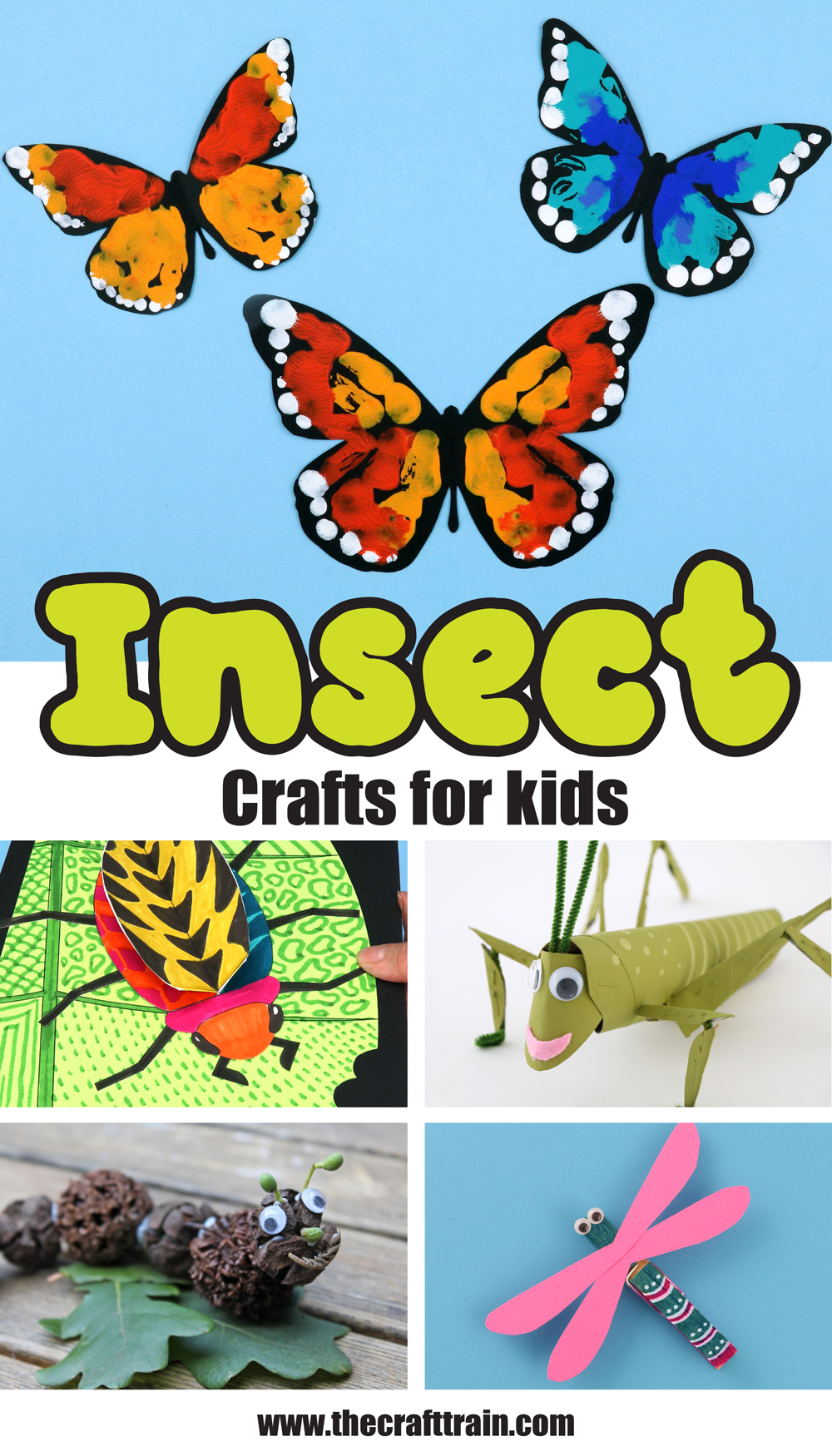 easy insect crafts for kids