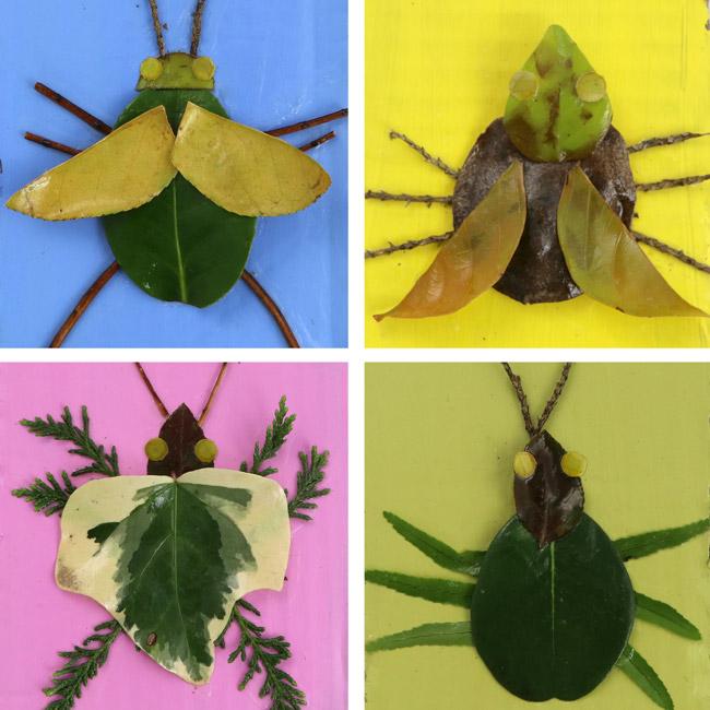 Nature art bugs