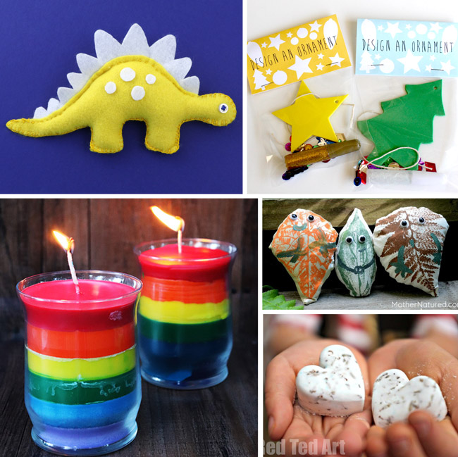 50 handmade gift ideas gifts kids can make for their friends handmadechristmas