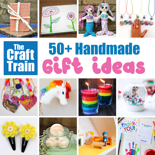 50+ Handmade gift ideas