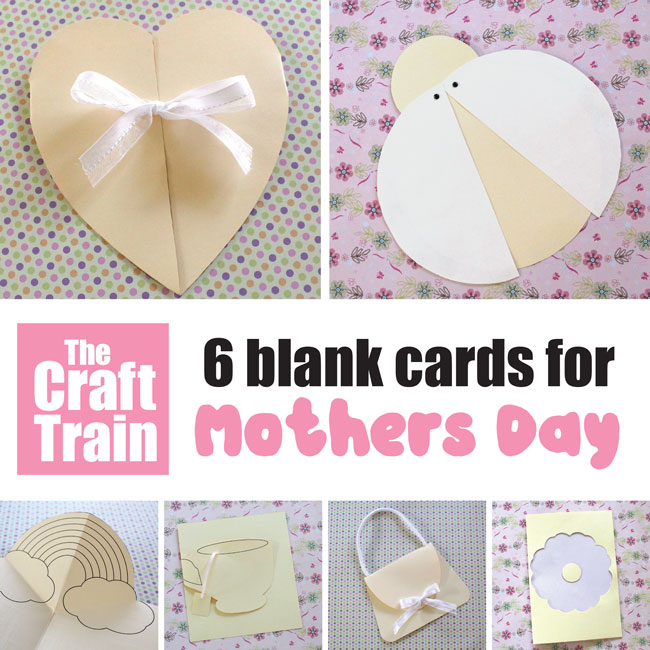 Six Mothers Day Card Templates The Craft Train