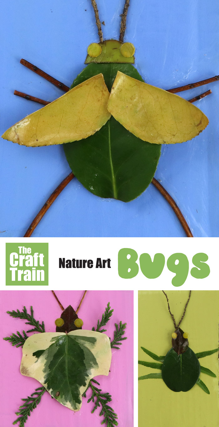 nature bug eco friendly craft idea for kids