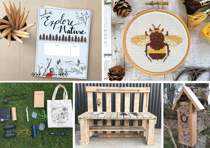 Nature craft ideas from ETSY
