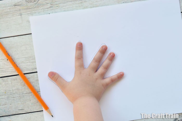 trace your hand