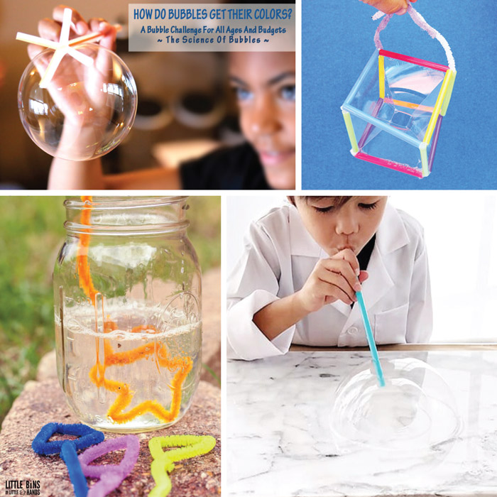 Bubble STEM ideas for kids
