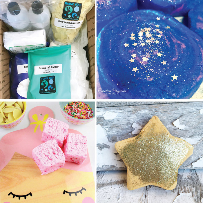 Bubble bath bars